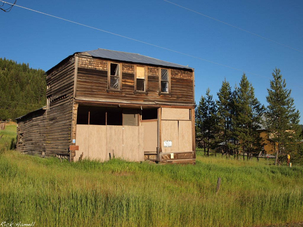 Ghost town of Granite, Oregon