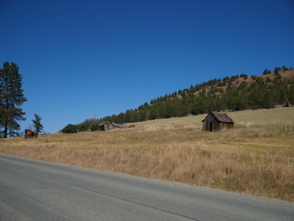 Ghost Town of Hamilton, Oregon