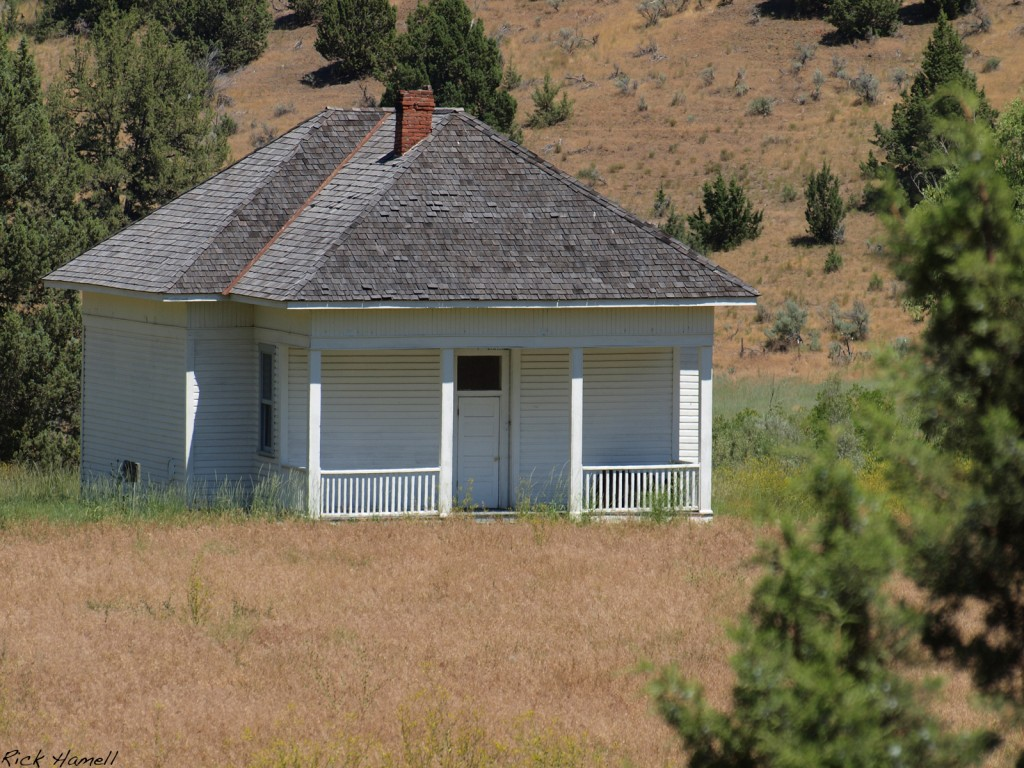 Ghost Town of Waldron Oregon