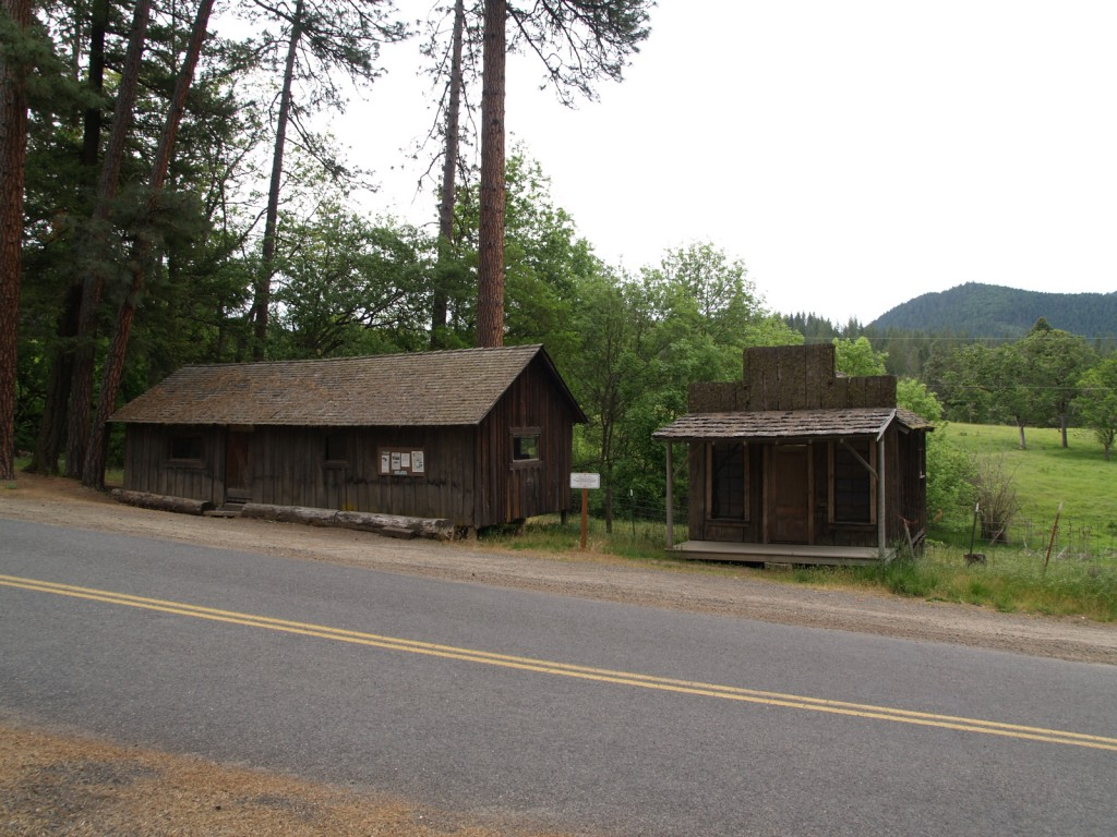 Ghost Town of Buncom Oregon