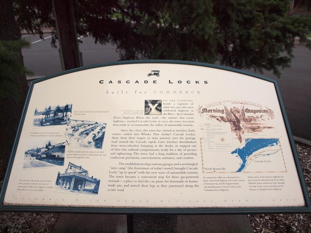 Cascade Locks, built for commerce