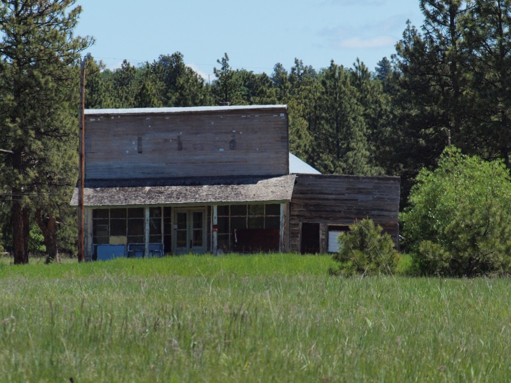Ghost Town of Friend, Oregon