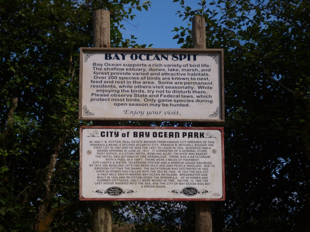 Bay Ocean Spit and Ghost Town