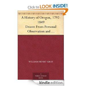 Free Kindle PNW History Books