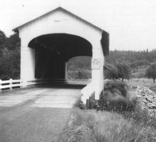 Earnest Covered Bridge 1957 #2