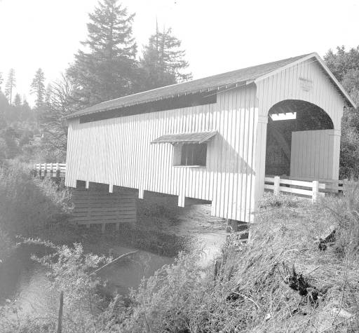 Earnest Covered Bridge 1957