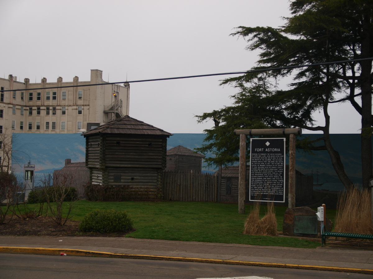 Fort Astoria, Oregon