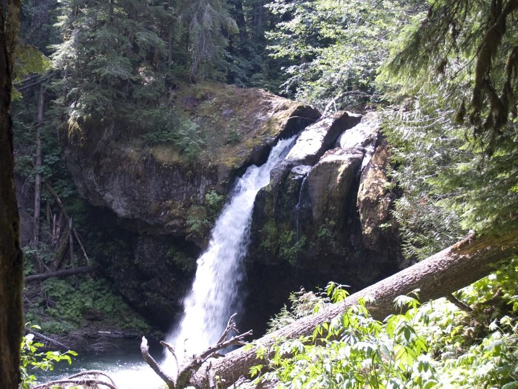 Iron Creek Falls at Mt. St. Helens