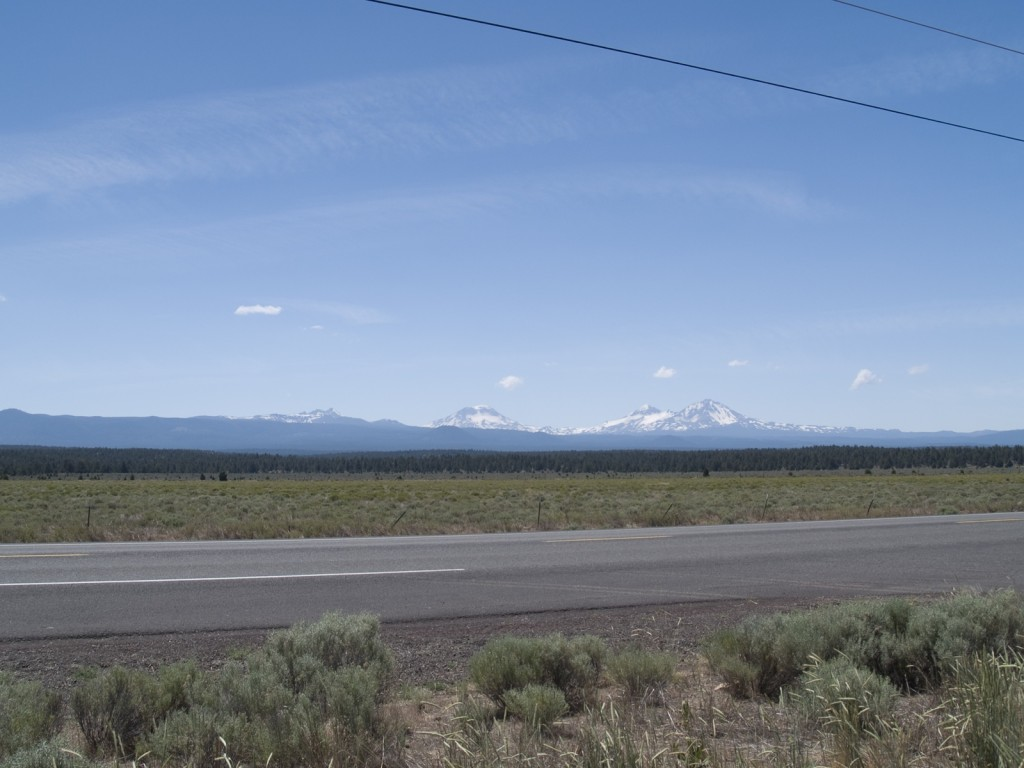 The Three Sisters, Central Oregon