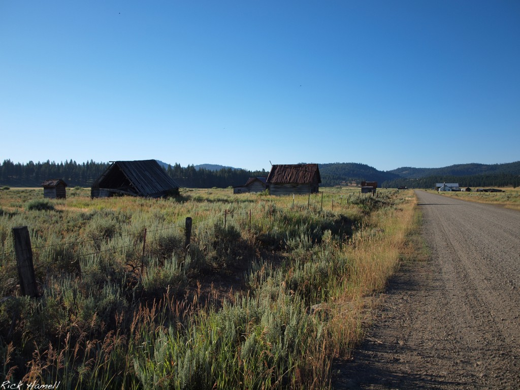 Ghost Town of Whitney Oregon