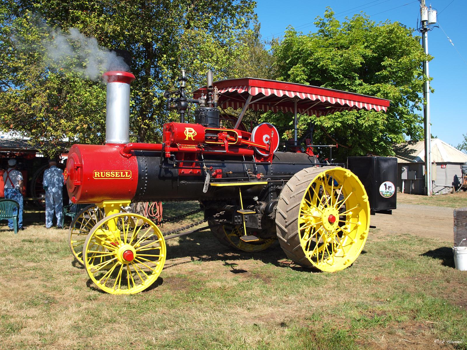 Antique Tractors In Ohio : Antique powerland annual steam up pacific northwest