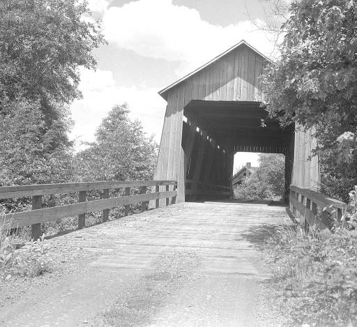 Gallon House Covered Bridge in 1936