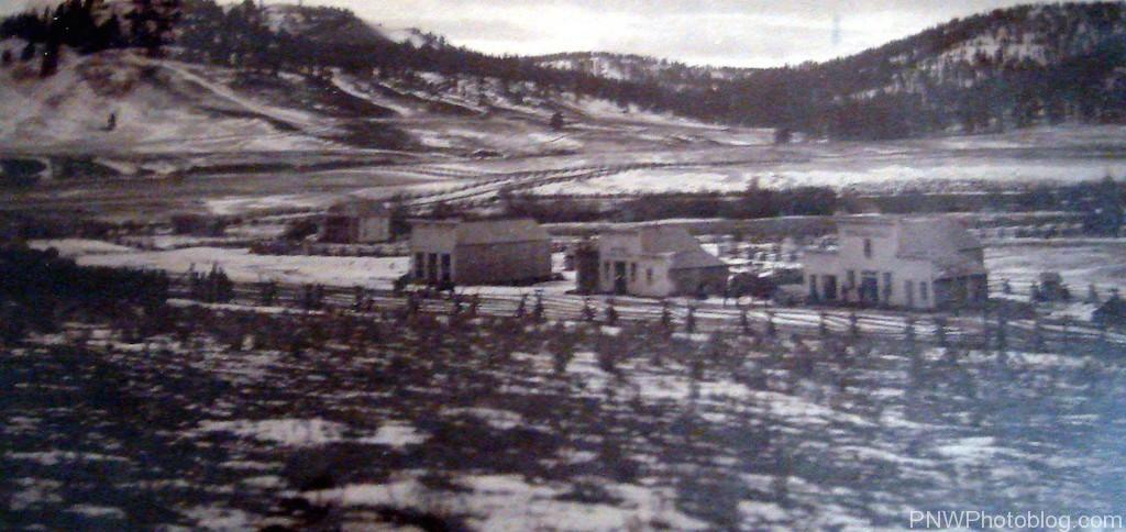 Hamilton Oregon in 1880 - from the Grant County Historical Museum in Canyon City Oregon