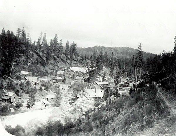 Susanville, Oregon (Viewed from Southwest) 1914