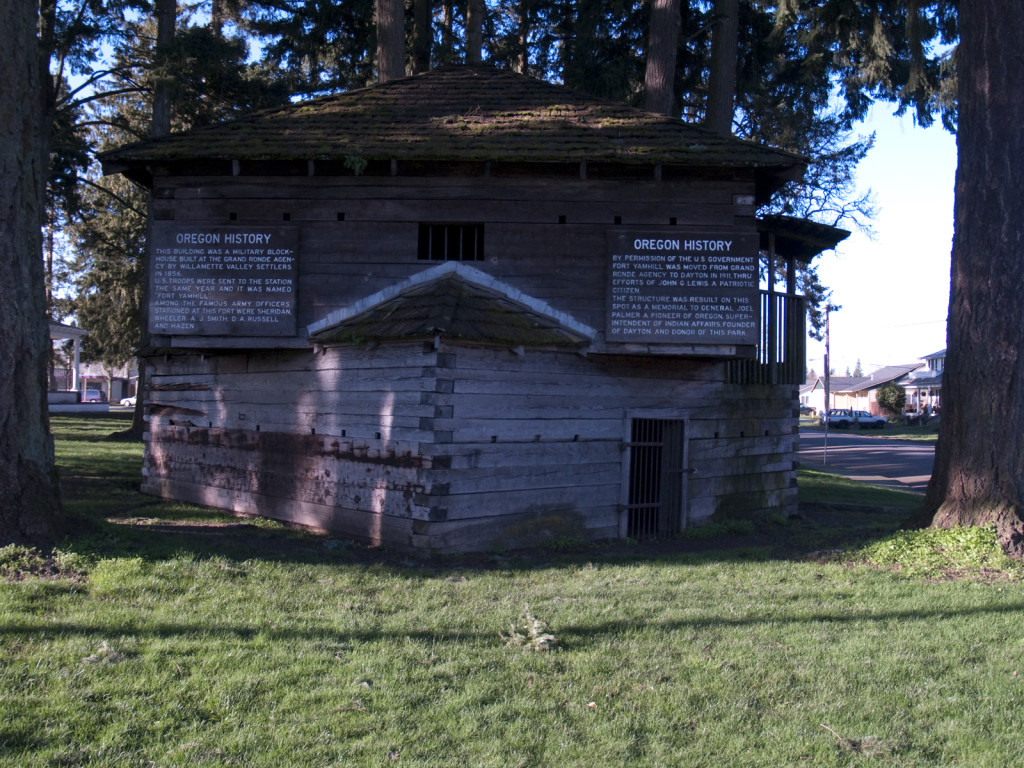 Fort Yamhill Blockhouse and Joel Palmer House