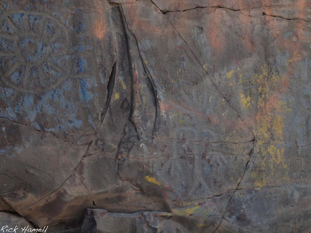Petroglyphs in Oregon
