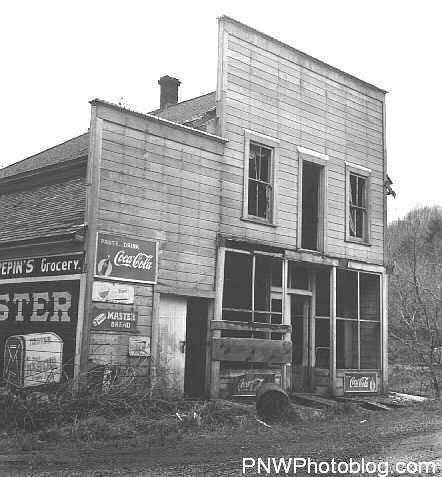 Archie Pepin's grocery store 1961