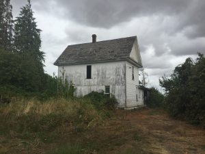 Farm Building on Winkle Landclaim in Jennyopolis Oregon