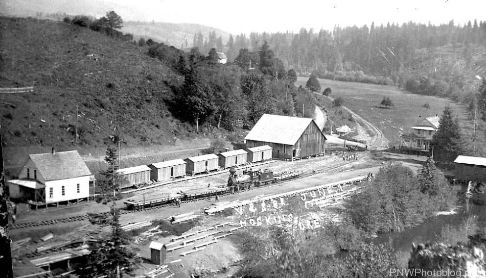 Valley-Siletz Railroad at Fort Hoskins