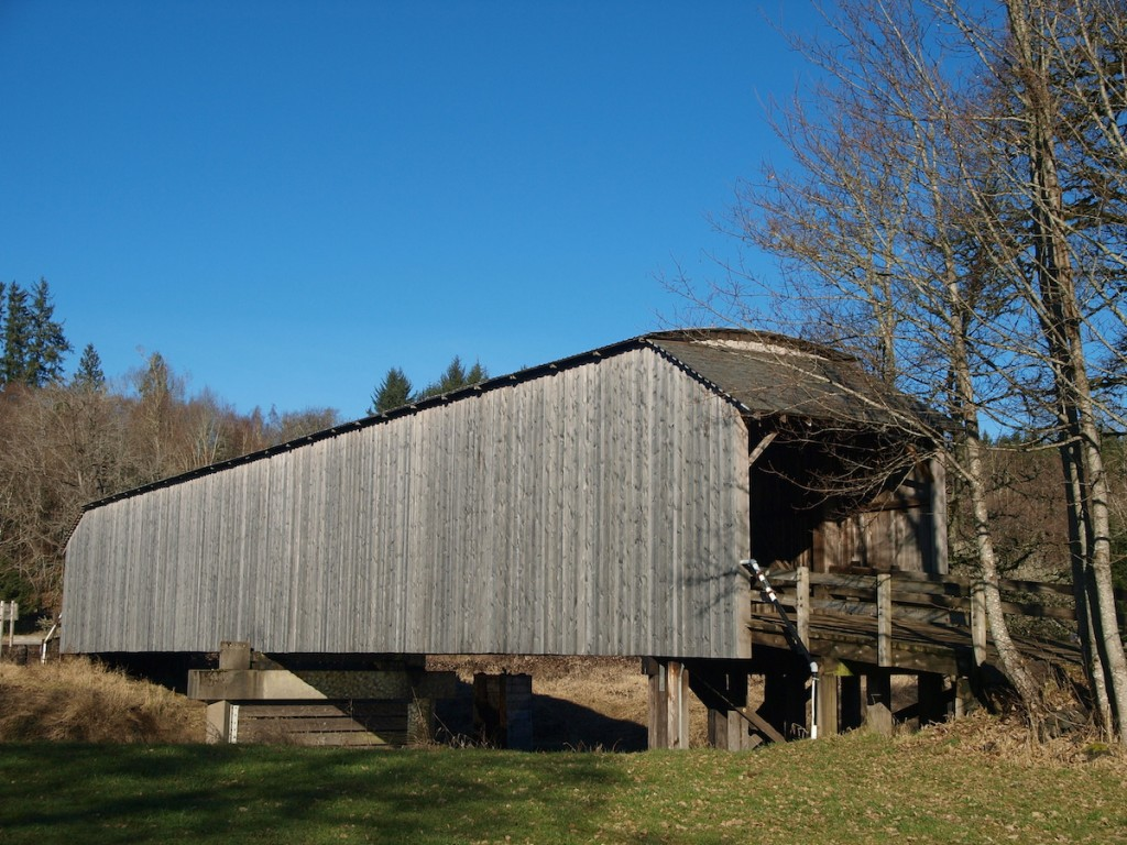 Gray's River Covered Bridge