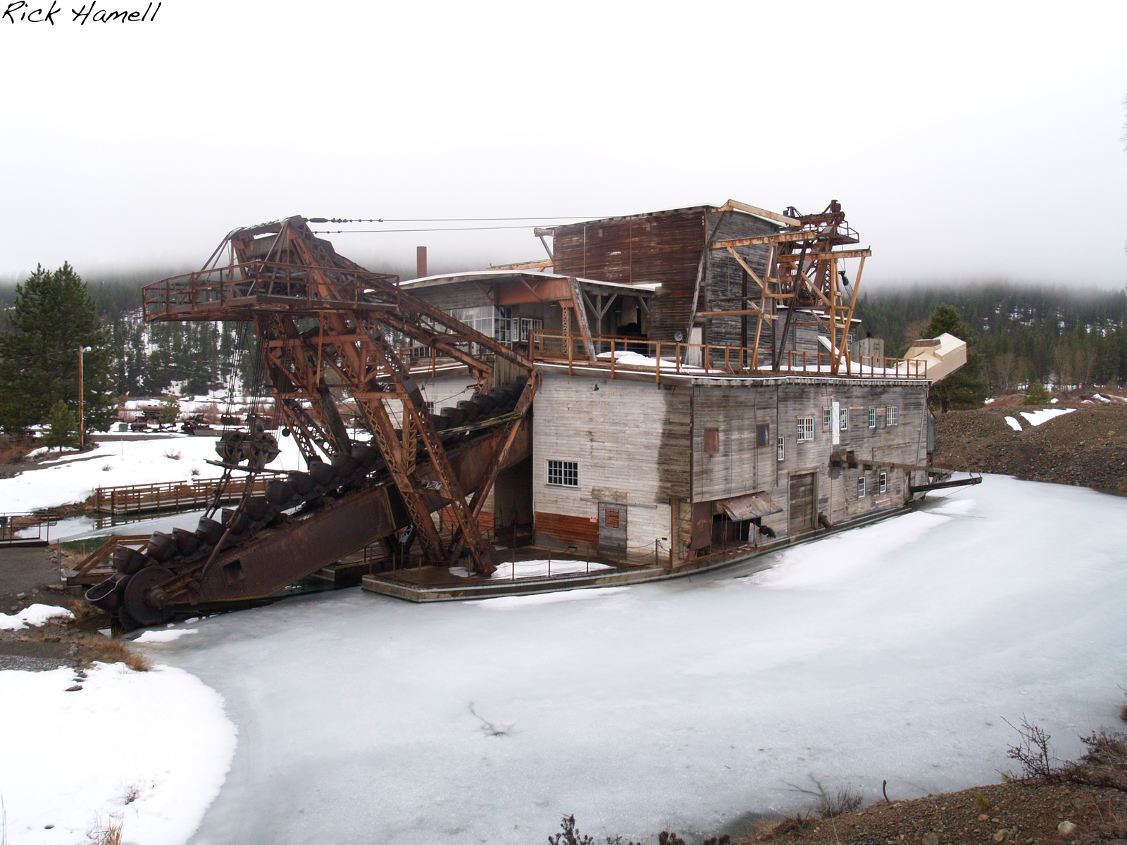Historic Gold Dredges : Sumpter oregon ghost town history pacific northwest