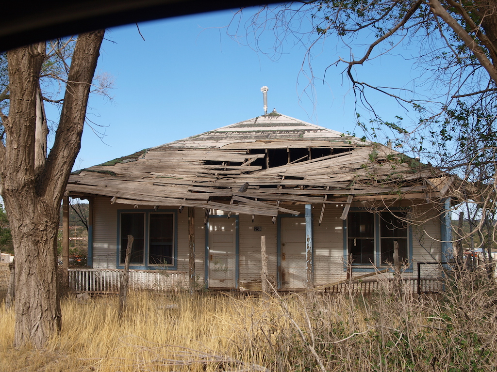 Corona New Mexico Ghost Town Map