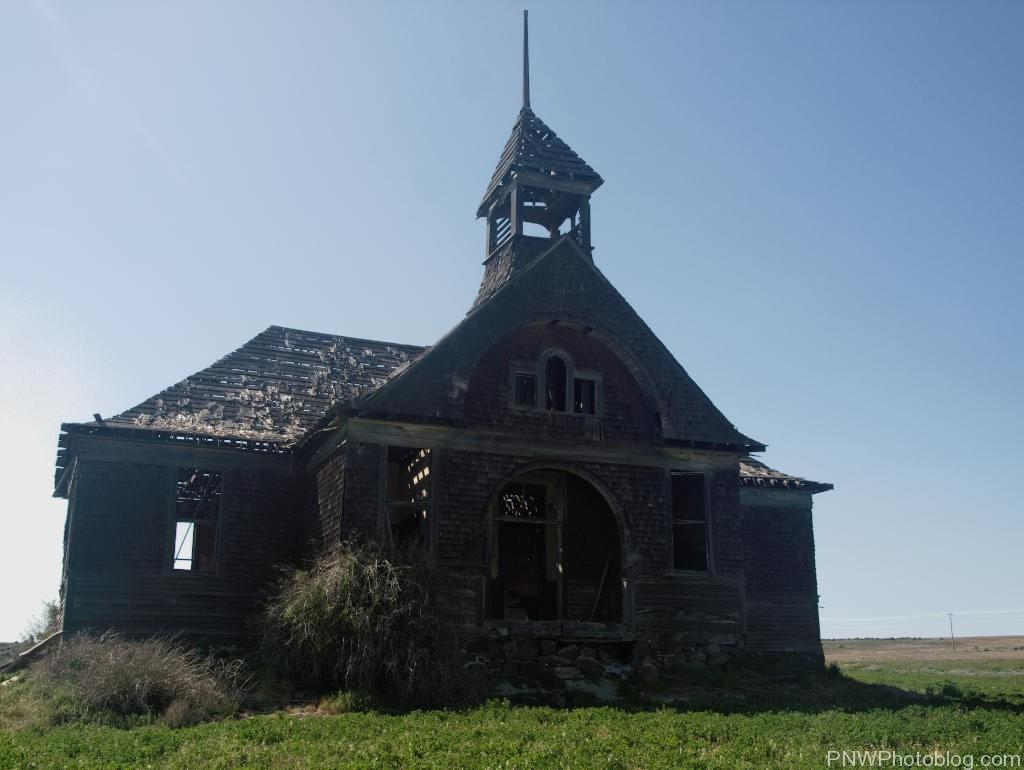 Ghost town of Govan Washington