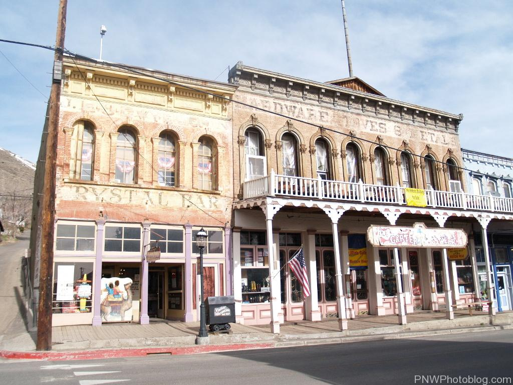Virginia City Nevada Tourist Ghost Town And National