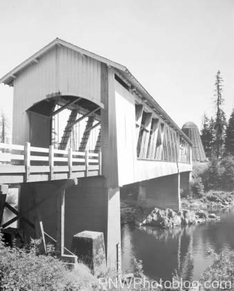 Foster Covered Bridge from 1960