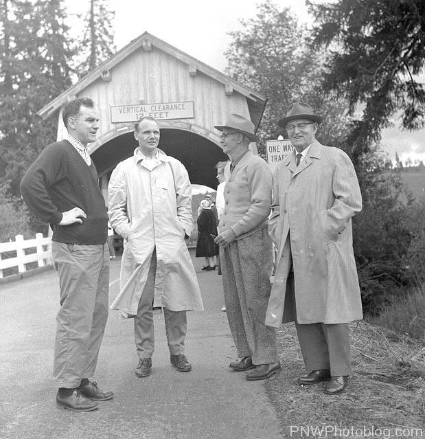 L to R: Tom Vaughan; Robert Scott; Otis Hamar,  and J.N. Dunn