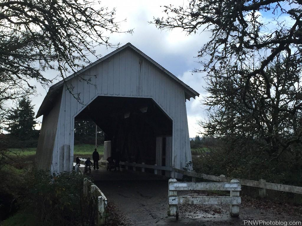 Irish Bend (Oak Creek) Covered Bridge, Corvallis Oregon
