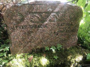 Sprague Cemetery Stone