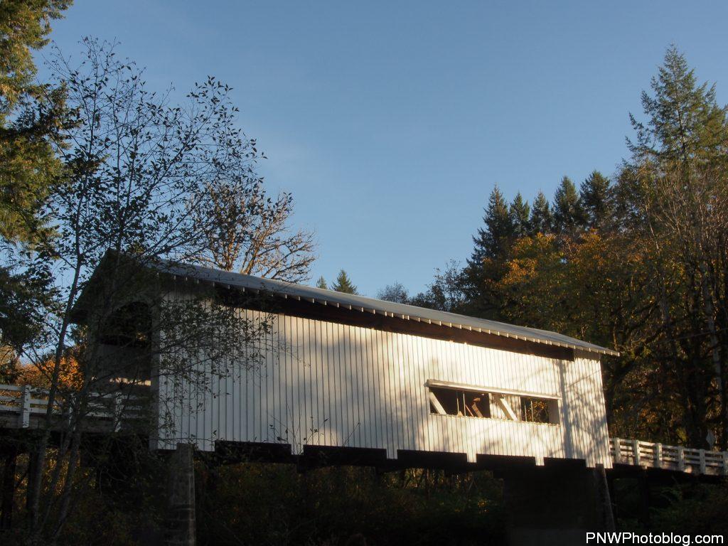 Wildcat Covered Bridge Side View