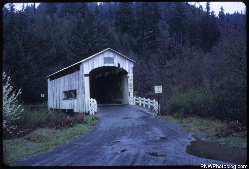 Wildcat Creek (a.k.a. Austa) bridge - 1965