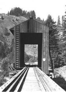 Corvallis and Eastern Covered railroad Bridge